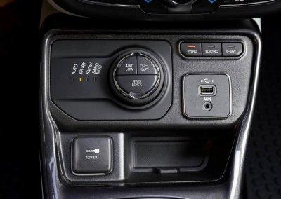 Jeep Compass 4xe Fahrmodusschalter