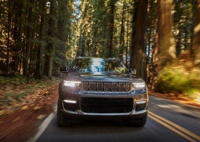 All-new 2021 Jeep Grand Cherokee L Summit Reserve