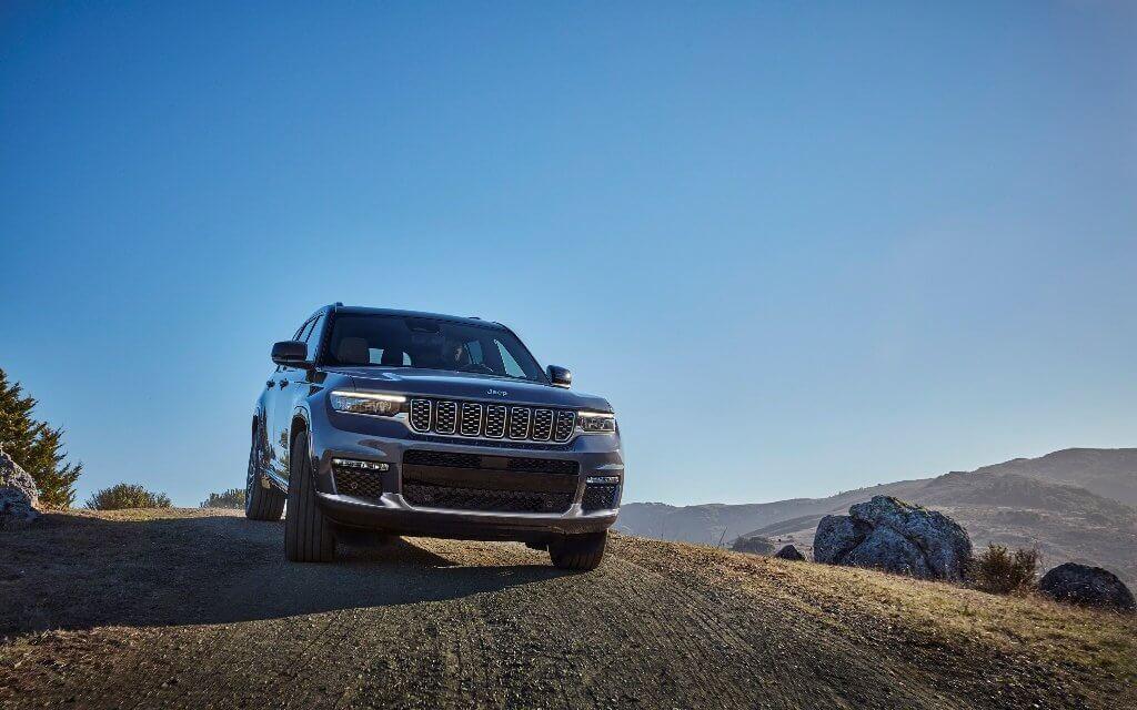 Weltpremiere des neuen Jeep Grand Cherokee L