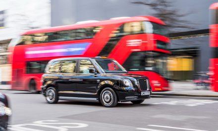 London-Taxi mit elektrischer Achse von GKN