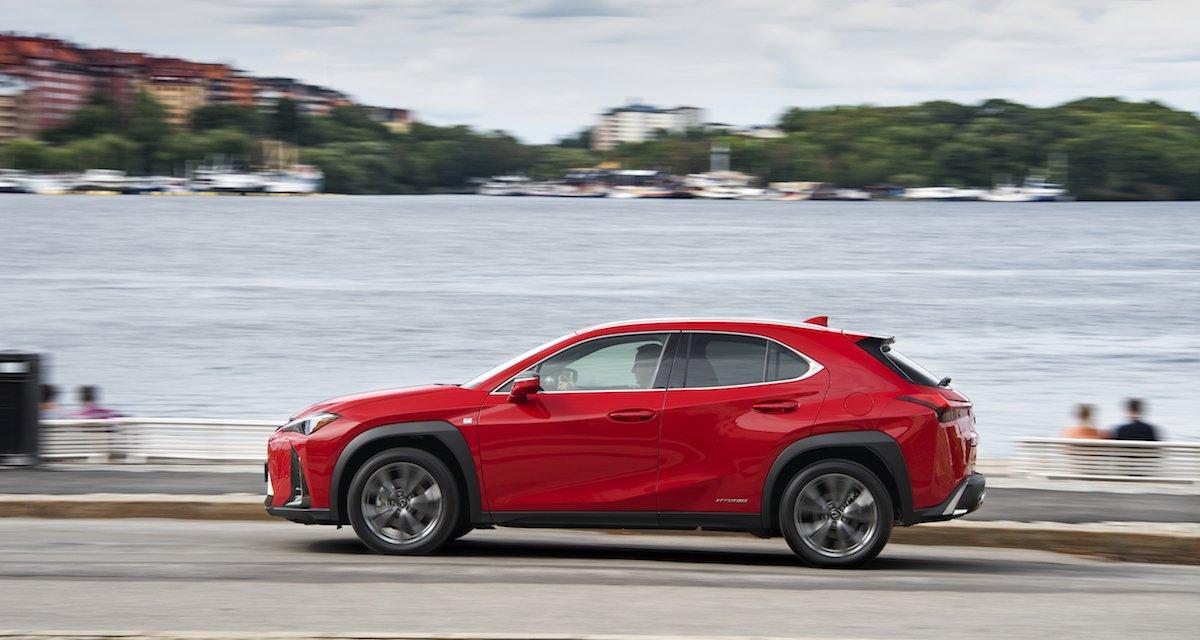Der neue Lexus UX: Auffallen in der Masse