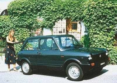 Autobianchi A112 Serie 1984 bis 1986