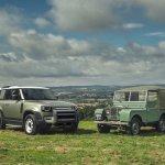 Spektakuläre Weltpremiere des Land Rover Defender