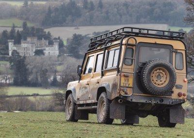 Land Rover Defender Works V8 Trophy Eastnor Castle