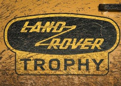Land Rover Defender Works V8 Trophy Badge