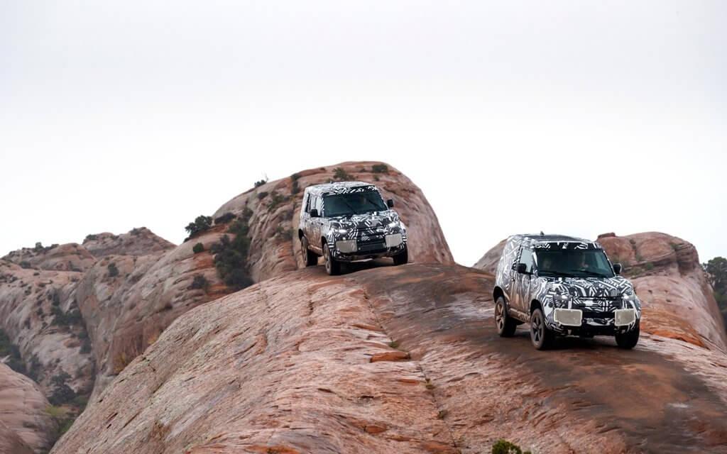 Praxistests mit dem neuen Land Rover Defender