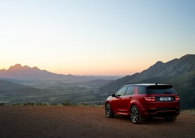 Land Rover Discovery Sport Heck
