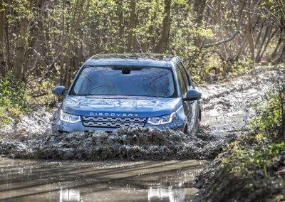 Land Rover Discovery Sport Wasserdurchfahrt