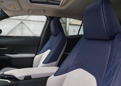 Lexus UX 250h Cobalt interior 04