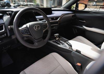Lexus UX 250h Cobalt interior 09