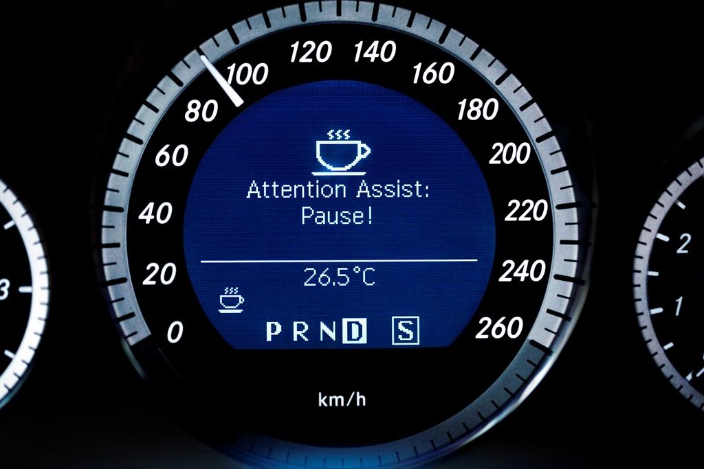 Aufmerksamkeits-Assistent oder Müdigkeitserkennung