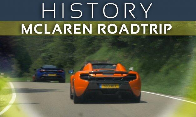 McLaren Roadtrip von München nach Zürich