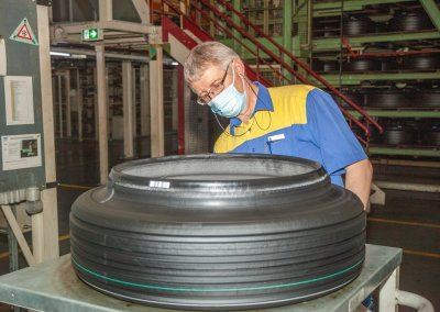 Michelin e.Primacy Fertigung in Bad Kreuznach