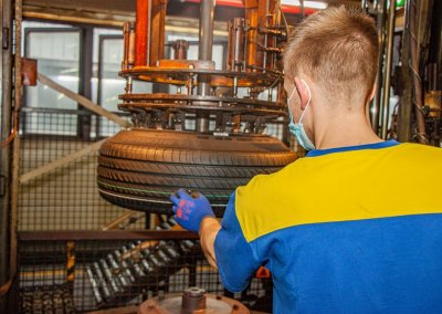 Michelin e.Primacy Fertigung in Bad Kreuznach