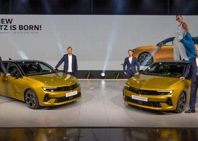 Opel Astra Weltpremiere Rüsselsheim