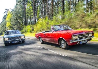 Opel-Kapitaen-B-Opel-Rekord-C-Cabrio
