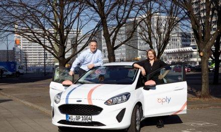Carsharing-Anbieter Oply in München und Hamburg