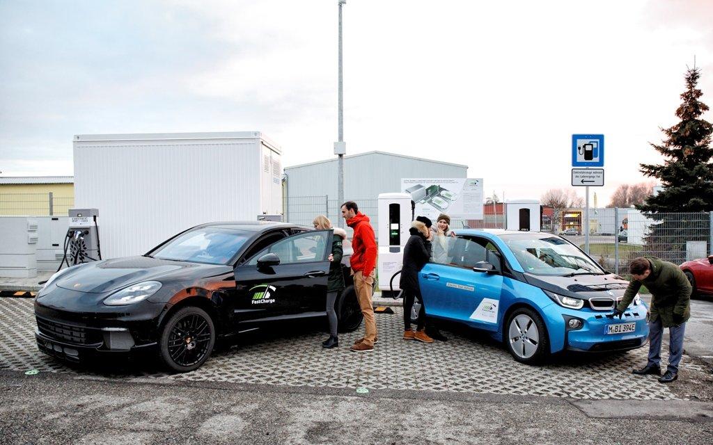FastCharge Prototyp in Jettingen eingeweiht
