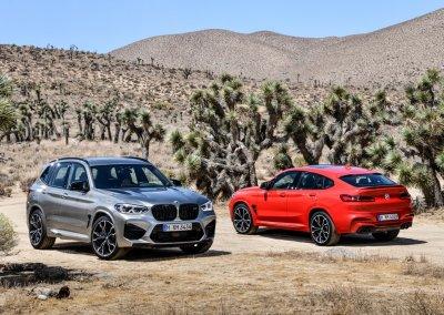 BMW X3 M und BMW X4 M
