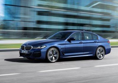 BMW 530e Limousine Fahrt