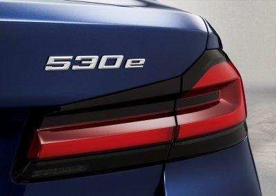 BMW 530e Logo