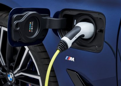 BMW 530e Plug-in-Stecker