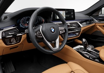 BMW 540i Cockpit