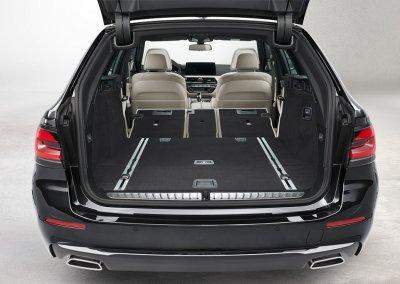 BMW 5er Reihe Touring Kofferraum
