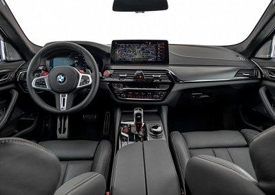 BMW M5 Competition Cockpit