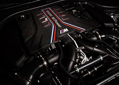 BMW M5 Competition Motor
