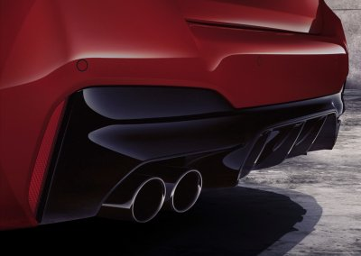 BMW M5 Competition Endrohr Auspuff