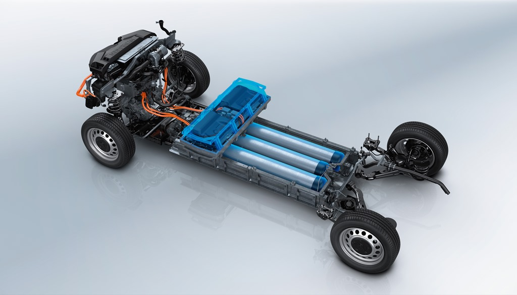 Peugeot e-Expert Hydrogen Antrieb und Wasserstofftanks