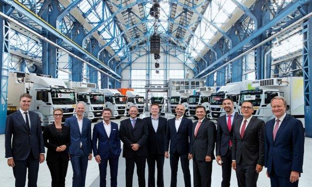 MAN Elektro-Lkw ab sofort in Österreich unterwegs