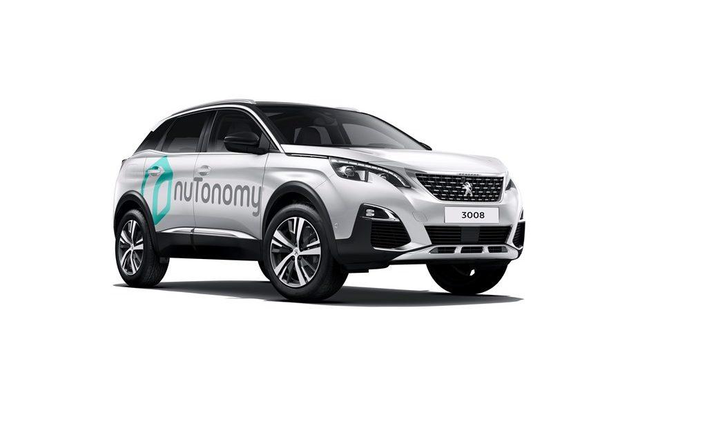 Peugeot 3008 nuTonomy fährt autonom