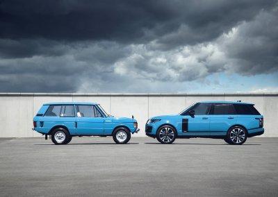 Range Rover Erste Generation und Range Rover Fifty