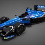 Der neue Formel E-Rennwagen Renault Z.E.17