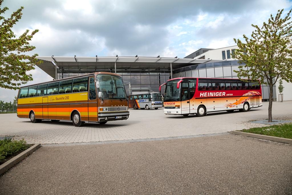 S 215 HD von 1976, der S 210 HD, 1988 und der S 315 HDH