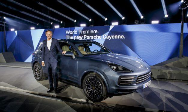 Weltpremiere des Porsche Cayenne