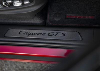 GTS-Schriftzug Porsche Cayenne GTS