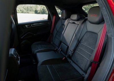 Rücksitze Porsche Cayenne GTS
