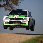 Kreim/Christian erneut Deutsche Rallye-Meister auf dem Skoda Fabia R5