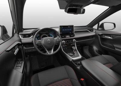 Suzuki Across Interieur
