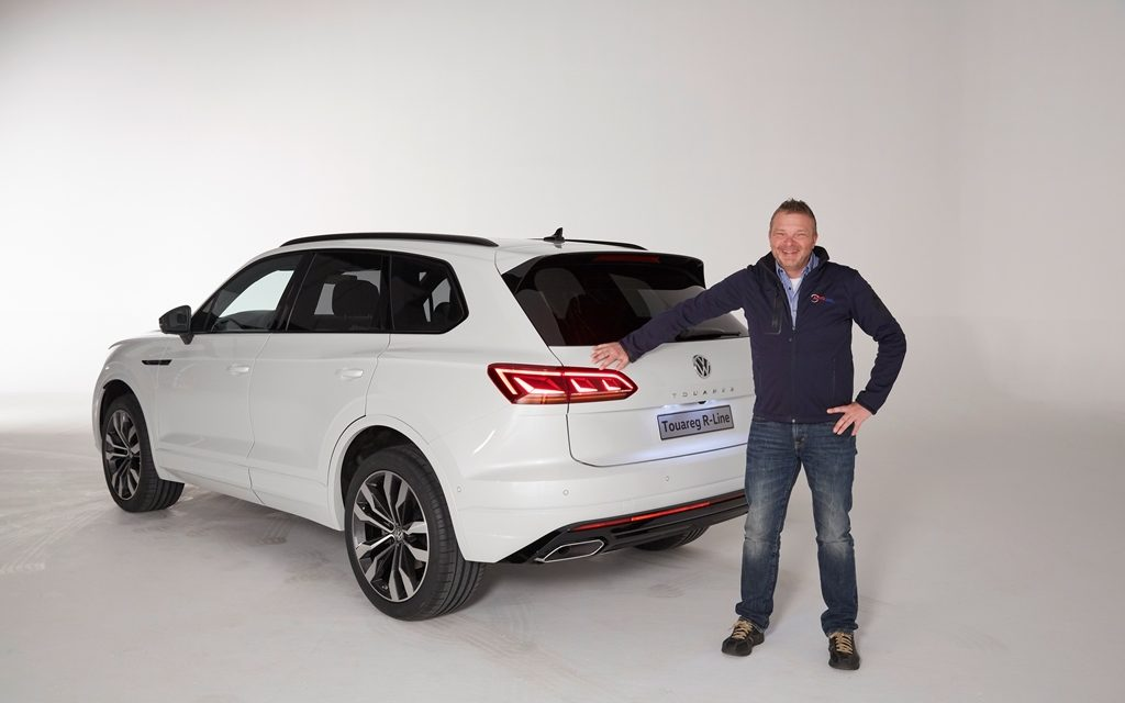 Weltpremiere des VW Touareg in Peking