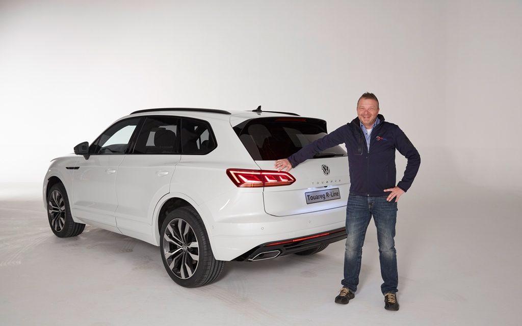 Weltpremiere des VW Touareg in Peking