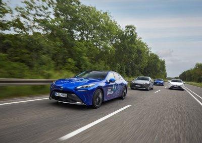 Toyota Mirai Advanced Fahrt