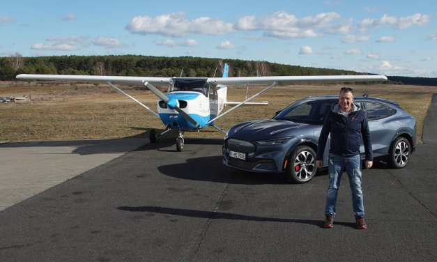 Ford Mustang Mach-E – Elektrisches Wildpferd