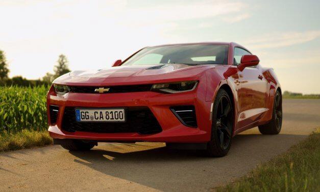 Video Chevrolet Camaro V8 Coupé