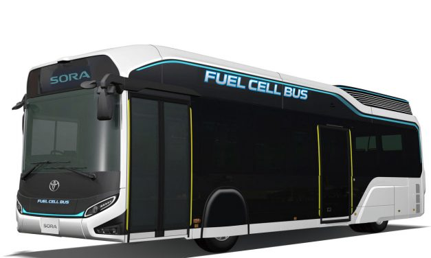 Toyota Brennstoffzellenbus Sora