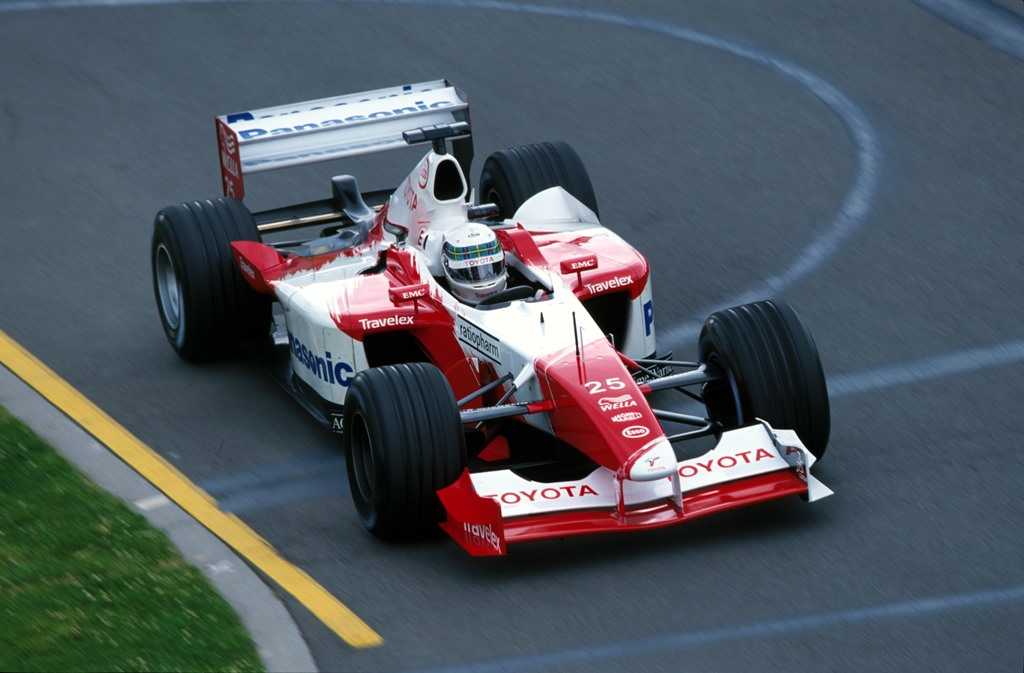 Toyota Formel 1 Australien 2002
