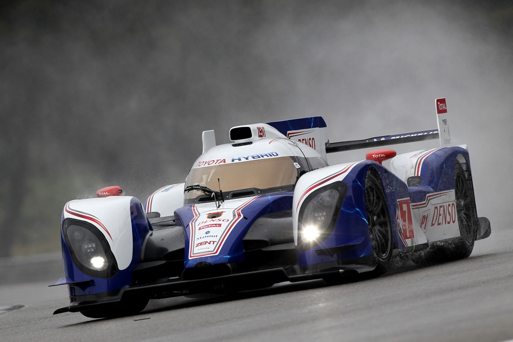 TO5 Toyota Hybrid Racing. 21-22 May 2012.